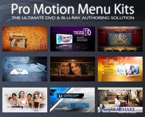 motion menu templates encore 187 templates4share free web templates themes
