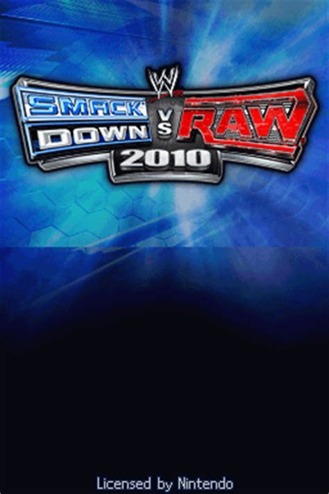 emuparadise up to down wwe smackdown vs raw 2010 featuring ecw u rom