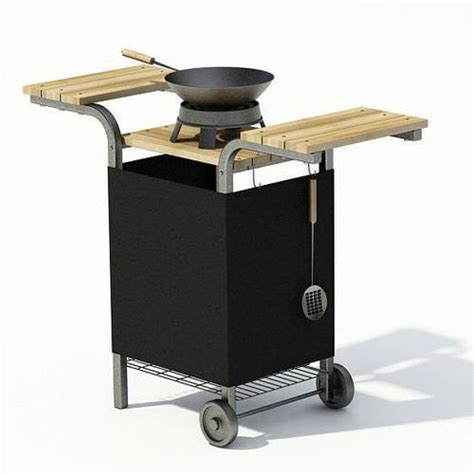3d portable outdoor grill cgtrader