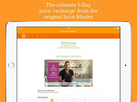 Jason Vale 5 Day Detox Juice by Jason Vale S 5 Day Juice Challenge 5lbs In 5 Days App