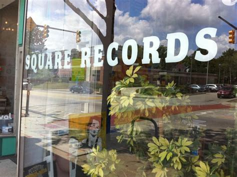 Akron Ohio Records Akron Ohio Record Stores Square Records Turntabling
