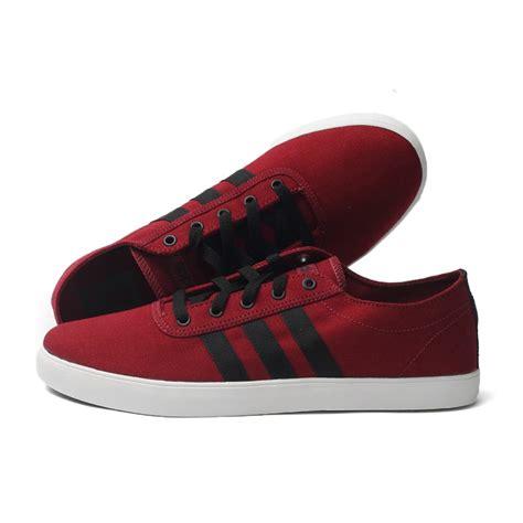 Promo Gratis Ongkir Sepatu Adidas Casual Sneakers Sport Gaya 1 adidas neo easy vulc canvas mens casual shoes maroon black white sportitude