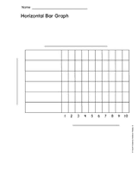 bargraph print out blank horizontal bar graph
