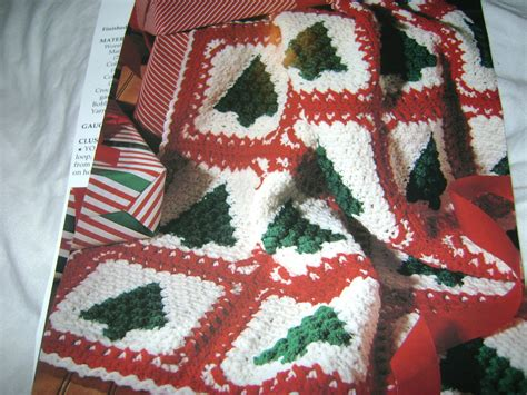 pattern christmas afghan crochet pattern christmas trees afghan crochet pattern