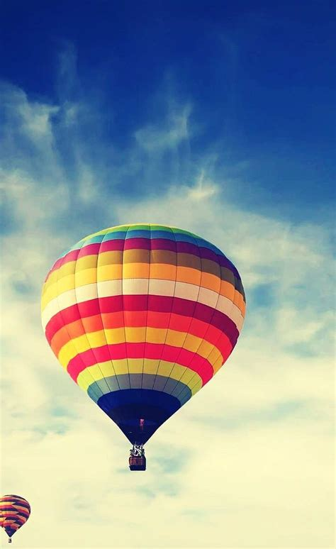 hot air balloon iphone lomo wallpaper mobilecom