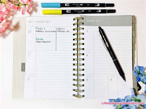 best planners for college students the best school planners for students 2017 2018
