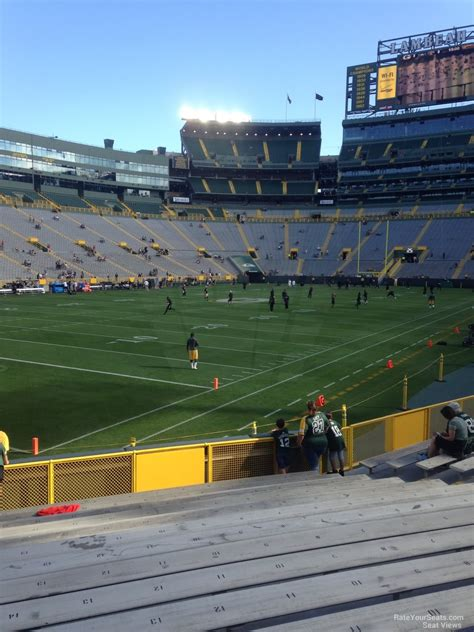 lambeau field section 108 lambeau field section 108 rateyourseats com
