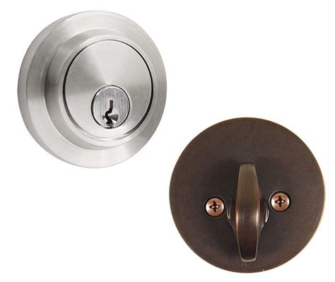 Door Knobs With Lock by Emtek Modern Brass Deadbolt Door Lock Shop Security