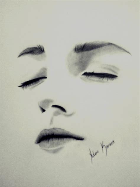 Karakalem Almalar Manzara Kolay | karakalem portre 231 alışmaları 1 06 06 2013 mfkaya