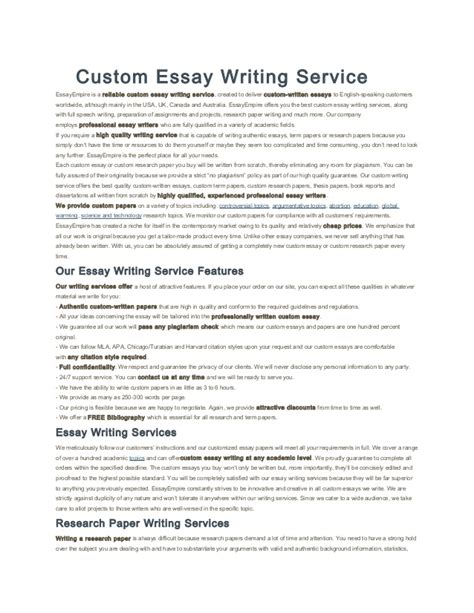 Custom Essay Help by Custom Phd Essay Editing Websites Usa