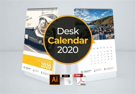 calendar template  desk stationery templates creative market