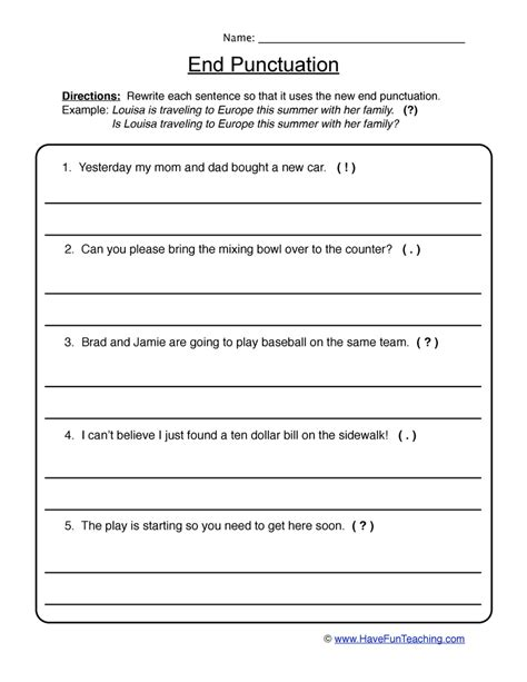 free printable question mark worksheets collection of ending punctuation worksheets bluegreenish