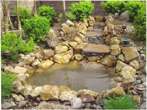 Building Garden Ponds And Waterfalls House Design And