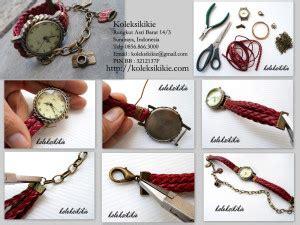 Kalung Tasbih Fancy Handmade membuat jam tangan gelang sendiri koleksikikie