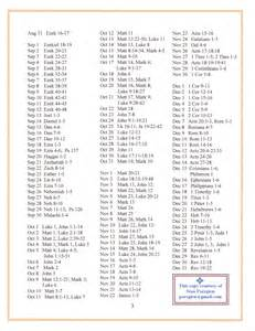 issue 293 new year s bible reading schedule the
