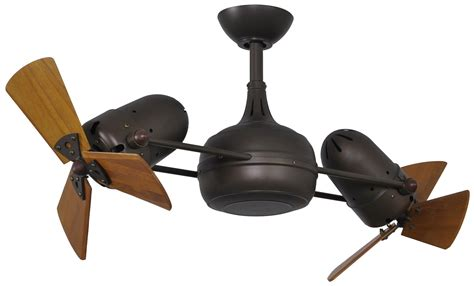 Dual Ceiling Fans With Lights Atlas Dg Dagny Dual Rotational Contemporary Ceiling Fan Mtf Dg