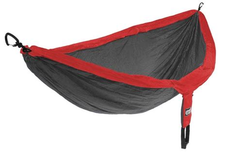 Hammock Eno Doublenest Black Yellow eno nest deluxe hammock charcoal going gear