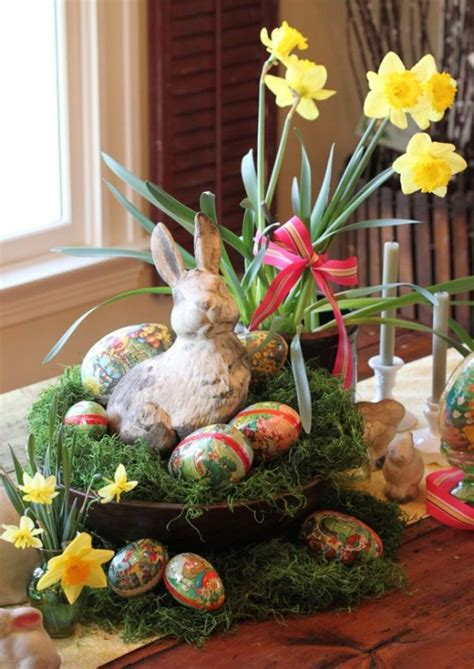 charming vintage easter decor ideas digsdigs
