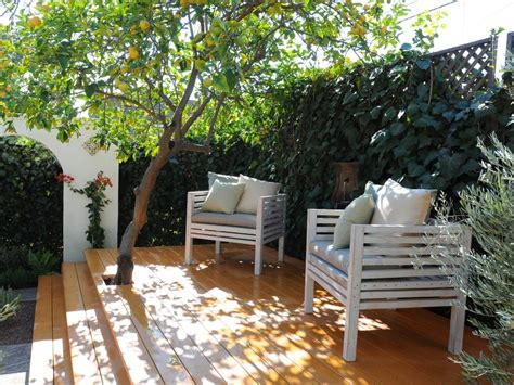 Patio Trees For Shade by Make Shade Canopies Pergolas Gazebos And More Hgtv