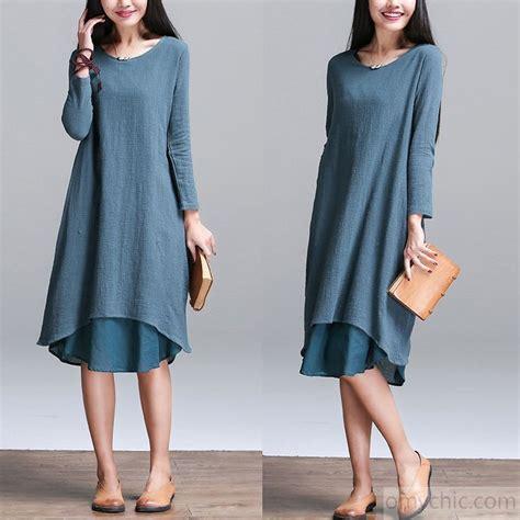 Cotton Layered Sundress Plus Size sleeves linen dress original plus size layered sundress linen summer dresses oversize