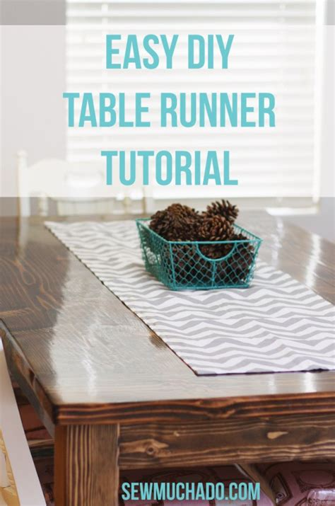 Diy Table Runner by Crafty Sewing Projects For The Home Diy