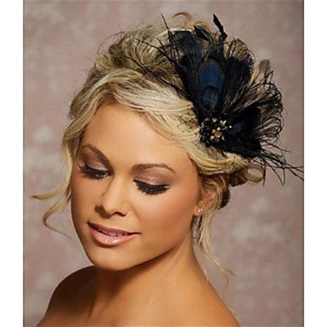 Wedding Hairstyles Updos With Fascinators by Chignon With Fascinator