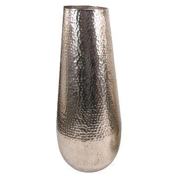 hammered metal floor l hammered copper vase target