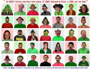 funny office christmas card ideas