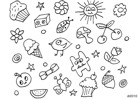 how to draw simple doodle 10 best images of easy doodles to draw