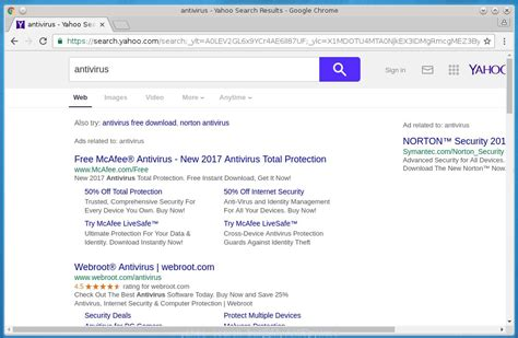 How To Search On Yahoo How To Remove Yahoo Search Bar From Chrome Firefox Ie