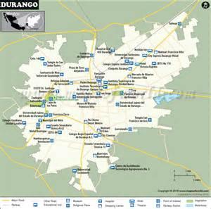 durango map map of durango city colorado