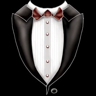Wedding Tuxedo Clipart by Clip Tuxedo With Tie Clipart Clipart Suggest