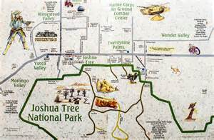 joshua tree california map