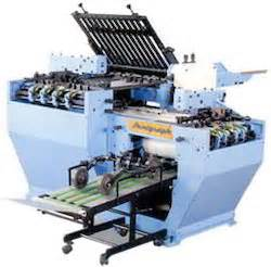 Second Paper Folding Machine - paper folding machines suppliers manufacturers dealers
