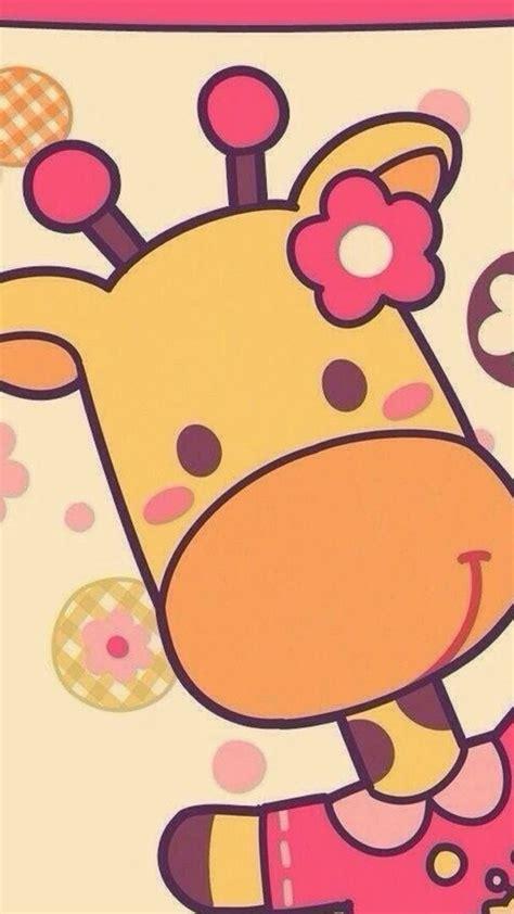 wallpaper cartoon iphone 6 cute cartoon giraffe iphone 6 6 plus and iphone 5 4