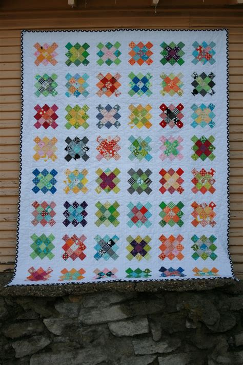 Quilting Squares by Leedle Deedle Quilts Square Quilt Finished