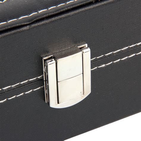 Kotak Jam Tangan Transparan kotak jam tangan luxury 10 slot black jakartanotebook