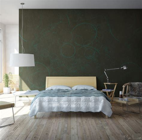 bedroom with beechwood floors dark green walls olpos design bedroom with beechwood floors dark green walls bedrooms