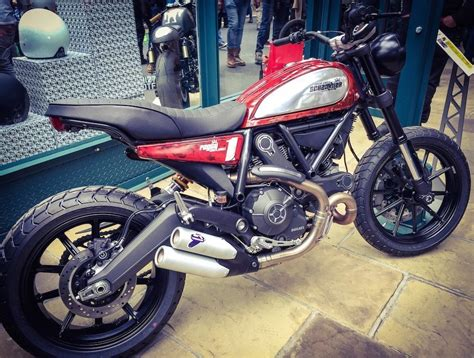 6 Custom Ducati Scrambler Models On Display