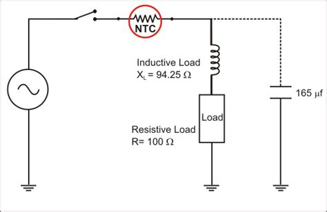 resistor in parallel with thermistor design guidelines for a power factor correction pfc circuit using a capacitor and an ntc
