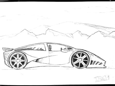 cars drawings sports cars drawings view