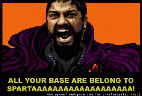 All Your Base Meme - ronn greer all your base are belong to us memes
