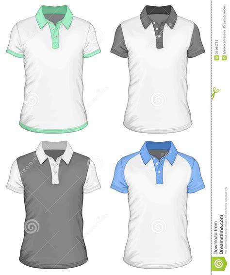 Diy Architecture Software Men S Polo Shirt Design Templates Stock Images Image