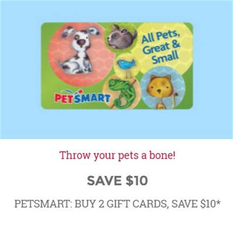 Frys Gift Cards - frys 25 merry ways today s deal petsmart gift cards pennywisepaws