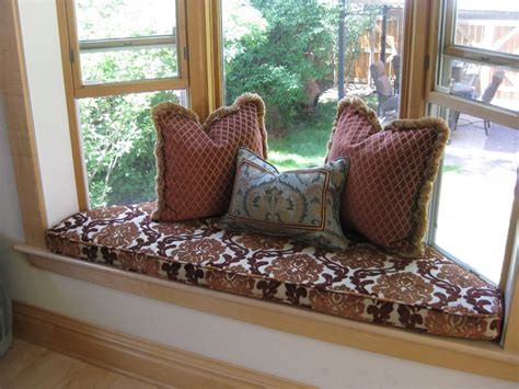how to make a window bench seat cushion ideas for seat cushions interior home design