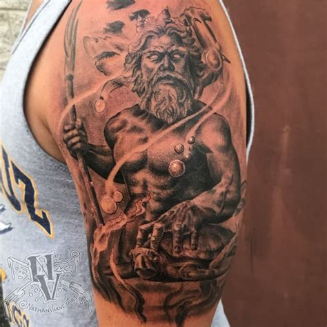 neptune tattoo poseidon tattoos find poseidon tattoos