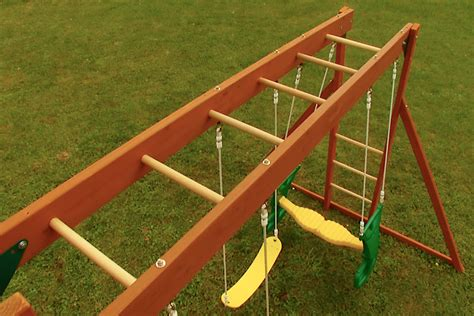 swing set with monkey bars sale the combination monkey bar swing beam selwood ireland blog