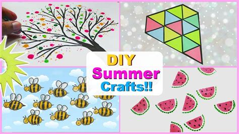 5 minute awesome crafts to do when you re bored diy summer crafts saminspire