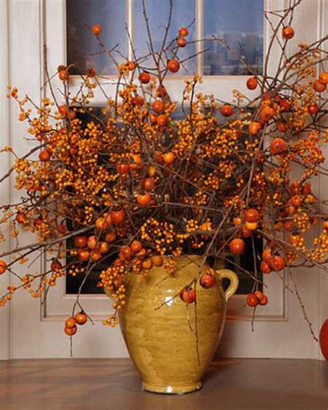 fall floral decorations colorful fall table decoration