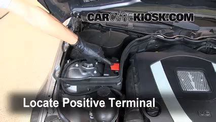mercedes c300 battery how to jumpstart a 2008 2015 mercedes c300 2009